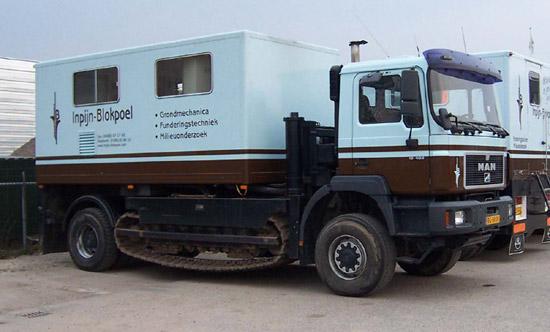 man track truck with cpt unit. Black Bedroom Furniture Sets. Home Design Ideas