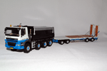 Ginaf X4241S with drawbar trailer
